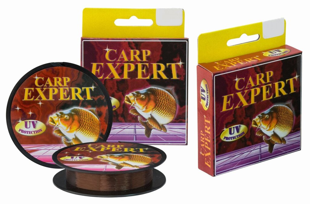 Леска Energofish Carp Expert UV Brown 150m 0.17mm 3.9kg (30118017) ##от компании## Carp Expert - ##фото## 1
