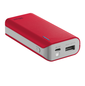 Рowerbank TRUST Primo 4400 red