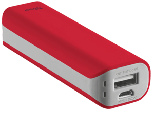 Рowerbank TRUST Primo 2200 red
