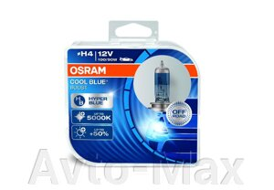 OSRAM Лампа H4 60/55W 12V P43t COOL BLUE BOOST 5000K +50% BOX от компании Avto-Max - фото