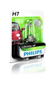 PHILIPS Лампа LongLife EcoVision H7 12V 55W PX26d
