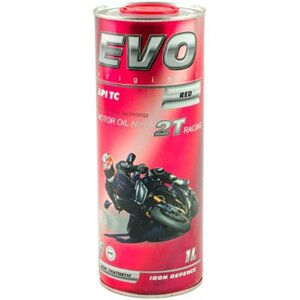 EVO MOTO 2T RACING (RED) 1L