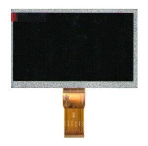 "Дисплей LCD (Экран) к планшету 7"" Turbopad 703 50 pin 164*97мм (1024*600)"