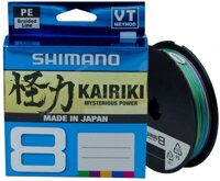 Шнур SHIMANO KAIRIKI 8 PE Multi Colour 300m 0.16mm 10,3kg в Днепропетровской области от компании Малек