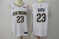 Баскетбольная джерси Nike NBA New Orleans Pelicans № 23 Anthony Davis белая