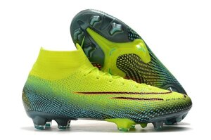 Бутсы Nike Mercurial Superfly VII Elite FG Volt/Green/Orange