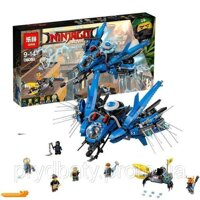 "КОНСТРУКТОР NINJAGO MOVIE LEPIN 06050 (АНАЛОГ LEGO 70614) ""САМОЛЁТ-МОЛНИЯ ДЖЕЯ"""