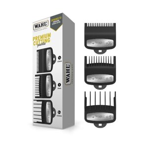 Набор насадок Wahl Premium Attachment Combs 3 Pack 3354-5001 для фейдинга