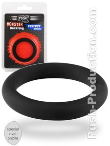 Кольцо эрекционное Push Monster - Perfect Silicone Cockring