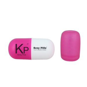 Мастурбатор пилюля Love To Love SEXY PILLS KINKY PINK