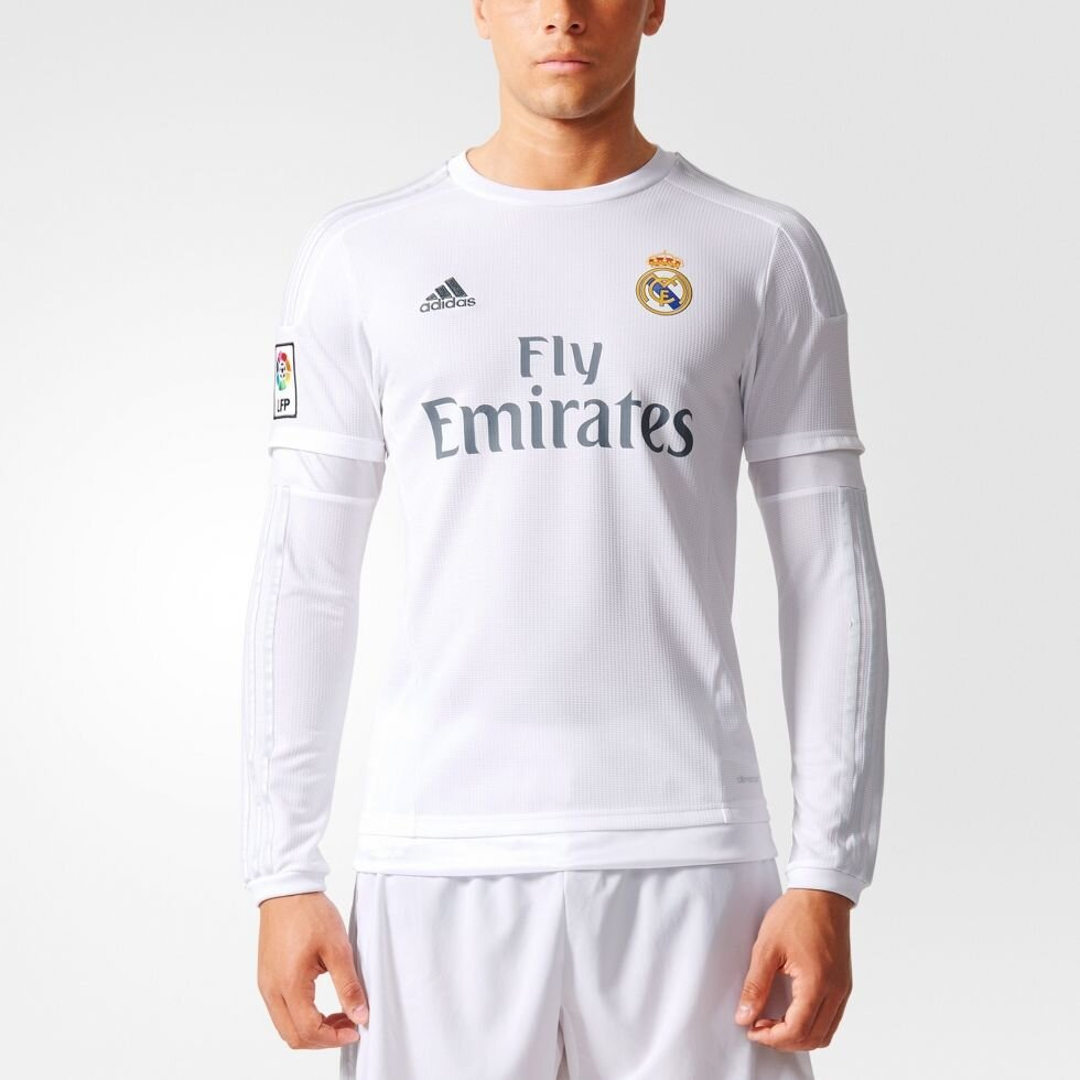 Клубная футболка ФК Реал (Мадрид) Adidas Real Madrid H JSY ##от компании## ФУТБОЛ + - ##фото## 1