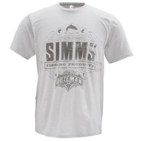 Футболка Simms Fishing Products Ash Grey L