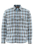 Рубашка для рыбалки Simms Coldweather Shirt Tidal Blue Plaid L