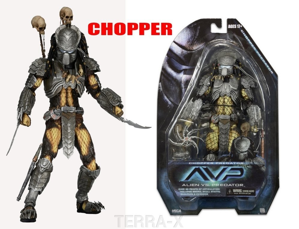 Хищник Predator-Chopper (AVP серия) ##от компании## TERRA-X - ##фото## 1