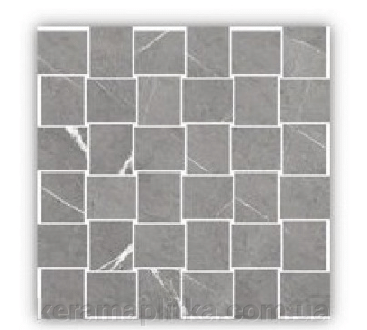 "Мозаика BEATRIS GREY MOSAIC 29,7X29,7 ##от компании## Магазин ""Керама"" г.Кременчуг - ##фото## 1"