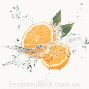 Панно Water Sparkles Inserto Orange 59,4х60