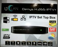 IPTV Set Top Box UCLAN Denys H.265 IPTV+