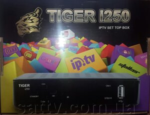 Tiger i250 IPTV SET TOP BOX от компании Sat TV - фото