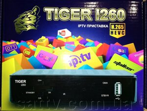 Tiger i260 IPTV SET TOP BOX от компании Sat TV - фото