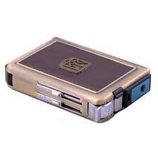 Купить портсигар с зажигалкой и выбросом сигарет на 20 сигарет табачные стики iqos heets selection