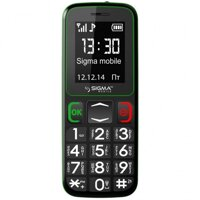 Бабушкофон Sigma mobile Comfort 50 Mini3 Black-green