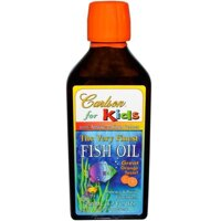 "Carlson Labs, Kids,The Very Finest Fish Oil, Natural Orange Flavor, 6.7 fl oz (200 ml) в Киеве от компании ""Полезный витамин"""