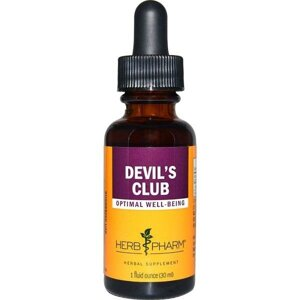 Herb Pharm, Devils Club, 30 мл