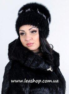 Хутряна шапка з песця від компанії Жіночі шуби та жилети з натурального  хутра від Українського виробника 057fa4c418ad6