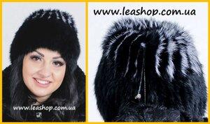 Жіноча хутряна шапка з кролика від компанії Жіночі шуби та жилети з  натурального хутра від Українського 4f96619cc9dfe