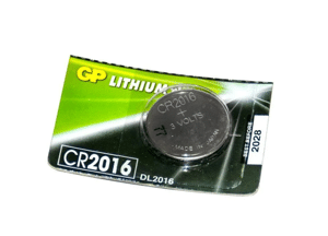 Батарейка GP дисковая Lithium Button Cell 3.0V, CR2016-8U5 литий, 1123