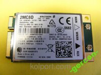 DELL DW5550 2MC8D 3G карта модем WWAN F5521gw