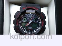 1bf47abb Электронные наручные часы Casio G-Shock GA-100, спортивные часы,  механические,