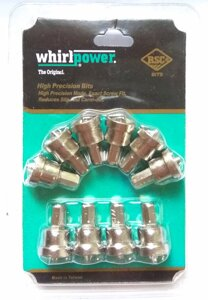 Биты Whirlpower ph2-25 мм. с ограничителем (блистер 10 шт.)