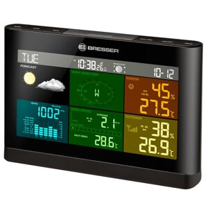 Метеостанция Bresser Weather Center 5-in-1 Comfort Colour Black в Киеве от компании hozyain. com. ua