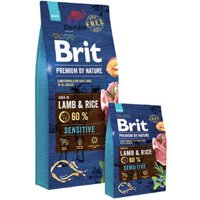 Brit Premium Dog Sensitive Lamb 15 kg в Киеве от компании MY PET