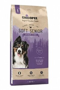 Chicopee CNL Senior Soft Chicken & Rice корм для пожилых собак 15 от компании MY PET - фото