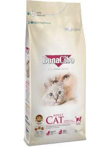 Сухой корм для кошек  BonaCibo Adult Cat Chicken&Rice with Anchovy 5 kg в Києві от компании MY PET