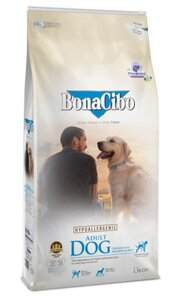 Сухой корм для собак BonaCibo Adult Dog Chicken&Rice with Anchovy 15 кг в Киеве от компании MY PET