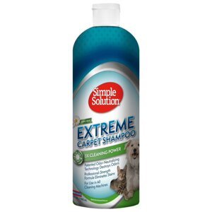 Simple Solution Extreme carpet Shampoo средство для удаления загрязнений, пятен и запахов животных с ковровых покрытий в Киеве от компании MY PET