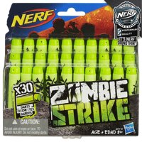Nerf набор патронов Зомби страйк (Official Nerf Zombie Strike 30-Dart Refill Pack) 30штук, Hasbro