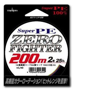Шнур Yamatoyo Super PE Zero Fighter 200м 0.6/8lb