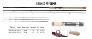 Фидер BratFishing Air Med M Feeder 3,9m (60-135g)