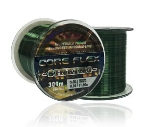 Леска Bratfishing Core Flex Sinking 300м 0,27мм