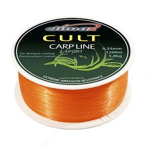 Леска Climax CULT Carp Line Z-Sport Orange 1200м 0,25мм