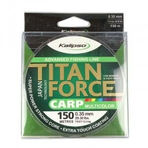 Леска Kalipso Titan Force Carp MC 150м 0.40мм