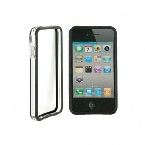 РАСПРОДАЖА! CO-49 Plastic Protective Ultra-slim iPhone 4G Bumper Frame Skin Case Cover with Power Switch Volume Control от компании Магазин для взрослых - фото