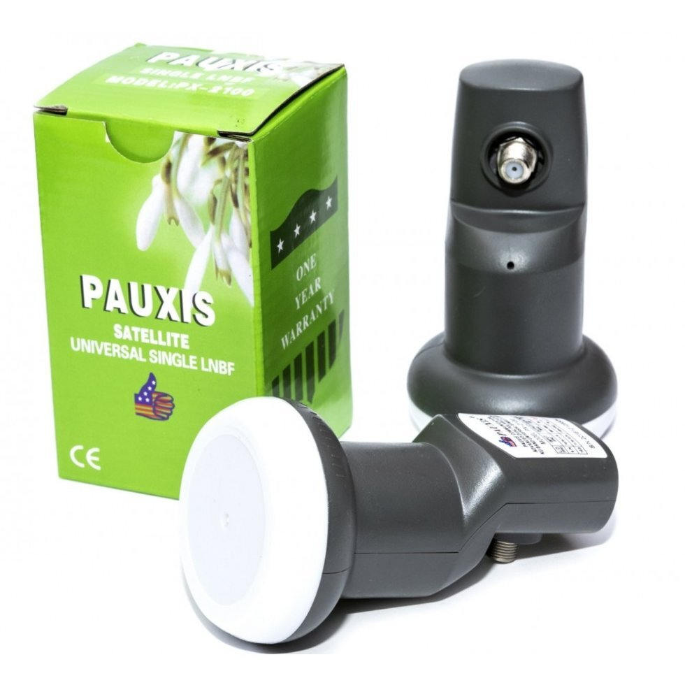 Cпутниковый конвертор Pauxis Universal Single LNBF PX-2100 ##от компании## ПО СПЕЦАНТЕННЫ  Связь без преград! - ##фото## 1